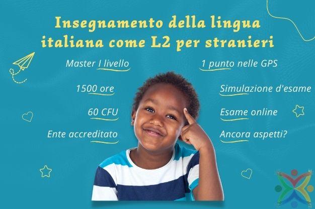Master L2 Italiano